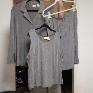 Merona 3-piece skirt set EUC
